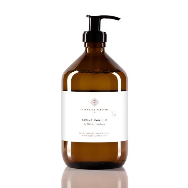 Divine Vanille - 500 ML - 16.9 Fl Oz - Liquid body & hand soap