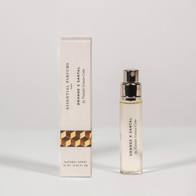 Orange X Santal - 10ML Spray – 0.33 Fl OZ – Eau de Parfum